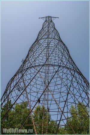 Лестница для подъема на башню Шухова